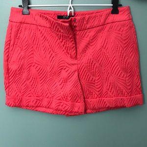 Bright patterned dress shorts